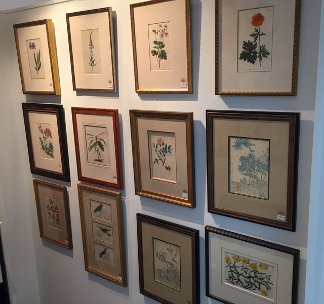 Antique Prints And Maps At Ardens Gallery Houston Texas - Frames for old maps